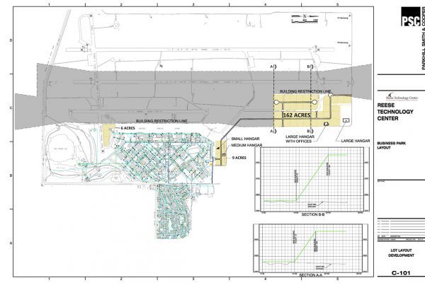 L6 Airfield Layout Site Development with Acreage 10 09 2013